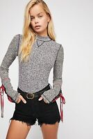 Free People Mountaineer Cuff Mock Neck size S