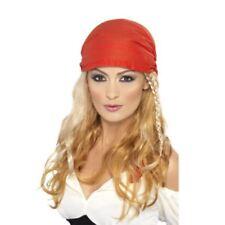 Complementos de piratas sintético para disfraces y ropa de época