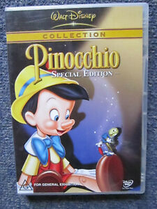 DVD WALT DISNEY COLLECTION PINOCCHIO SPECIAL EDITION   *** MUST SEE ****