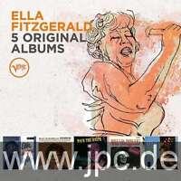 5 Original Albums - Fitzgerald Ella 5 CD Set Sealed ! New !