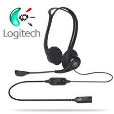 LOGITECH PC 960 Stereo Headset / Kopfhörer für PC - USB Lautstärkeregler - Mikro