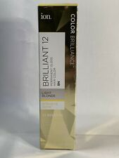 ION Color Brilliance Permanent Gloss Hair Color Brilliant 12 LIGHT BLONDE 8N