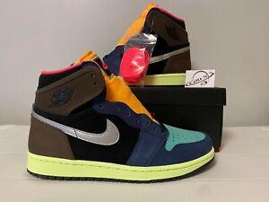 Nike Air Jordan 1 High OG Bio Hack Tokyo Brown/Black/Orange 555088-201 Size 4-14