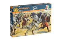 ITALERI 1:72 SOLDATINI ARAB WARRIORS COLONIAL WARS 50 FIGURE DA DIPINGERE  6055