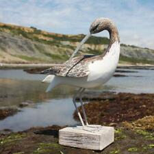 Hand Carved Curlew Bird Preening by Archipelago | D290