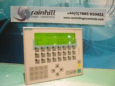 Siemens 6AV3 617 1JC00 0AX1, HMI, Operator Interface. (Inclusive Of UK VAT)