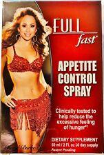 FULL Fast Appetite Control Spray 2 oz.
