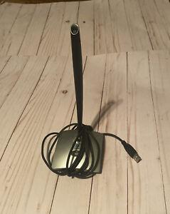 Logitech USB Desktop Microphone Skype Certified Silver - Used, Untested!