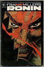 Ronin Frank Miller 1st Edition 1987 Graphic Novel Titan Books