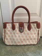 DOONEY & BOURKE Signature Small Double Handle Tote SV51-NWOT