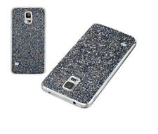 BRAND NEW Swarovski Crystal Battery Cover Samsung Galaxy S5 Vibrant Blue