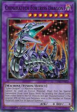YU-GI-OH CARD: CHIMERATECH FORTRESS DRAGON - LEDD-ENB28 - 1ST EDITION