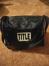 Title Boxing Club Sport Gear Gym Duffel Bag 16 x 10 x 12 Inches Black