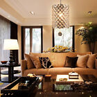 Modern Shining Crystal Beads Chandelier Ceiling Light Pendant Lighting Fixture