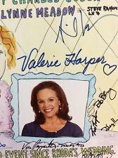 VALERIE HARPER SIGNED POSTER THE ALLERGIST'S WIFE JAMES AUTOGRAPHED RARE ESTATE