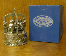 A E Williams Trinket Box #139B TEDDY CHRISTENING, Pewtersmiths founded in 1789