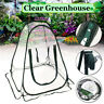 Mini Foldable Garden Plants Flowers Flowers Cover Tent Transparent PVC Greenhous