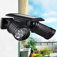 Dual Security Detector Solar Spot Light Motion Sensor Outdoor 14 LED Floodlight