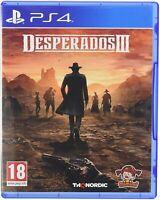 Desperados 3 Sony Playstation 4 PS4 Game