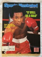 "Sports Illustrated November 24, 1980; ""It Will Be A War"", Leonard~Duran - RARE!"