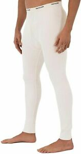 NWT - Fruit of the Loom Men's Waffle Thermal Bottom Long Johns - Natural - L