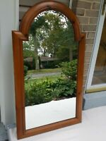 "48""×28""Vintage Wall Mirror, Solid wood frame"