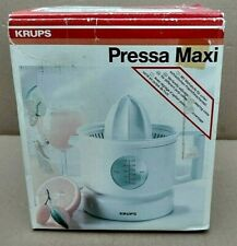 KRUPS Pressa Maxi 293 24-oz. Citrus Press Juicer 120V made in Spain