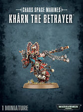 Chaos Space Marines Kharn the Betrayer Khorne Marine Warhammer 40k NEW