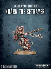 Chaos Space Marines Kharn the Betrayer Khorne Marine Warhammer 40k NEW