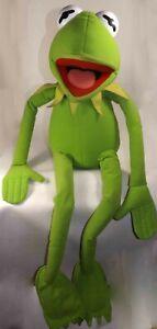 "Life Size KERMIT the Frog Nanco 4' ft Giant Plush 48"" Jim Hensen Muppets Vintage"
