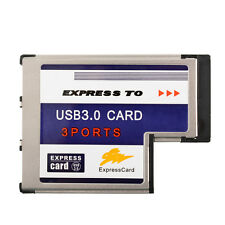 High Quality 54mm Express 3 Ports USB3.0 Card Adapter for Computer Desktop PC