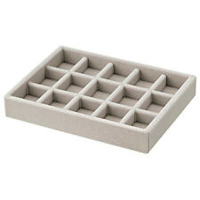 MoMA MUJI Velour Inner Accessories Tray - Grid