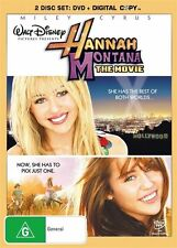 Hannah Montana - The Movie (DVD, 2009) R4 PLEASE NOTE EX RENTAL DISC ONLY, HARD