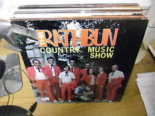 The Rathbun Country Music Show vinyl LP EX Professional Artist Private Signed