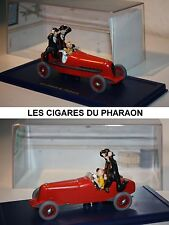 Atlas-tim y Tintín-Tintin car-Red Rocket-les cigares du pharaon-modelo-Rare