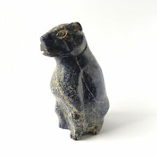 Lapislazuli Tierfigur Edelstein Tier Briefbeschwerer aus Afghanistan 484Gramm