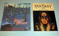 2 Books SCIENCE FICTION FANTASY MARS ATLANTIS TOLKIEN DRACULA Gothic Werewolves