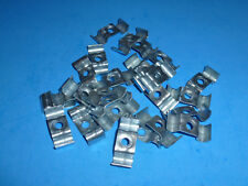 """1/4"""" Tubing Clamp Duplex 2-Line, (25 Clamps),FREE SHIPPING, WG1508"""