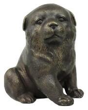Vintage Bronze Chubby Puppy Baby Dog Pop Art Statue Sculpture - Manner of Botero