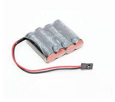 Panasonic enelooppro récepteur Batterie 4,8v plat AA 2500mah GRAUPNER CONNECTEUR