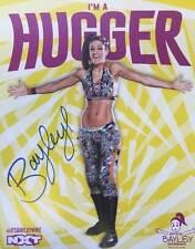 WWE Blaze Da Donna DIVAS UFFICIALE NXT a mano firmato poster foto Figura Wrestling