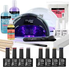 Mylee MYGEL LED Gel Nail Polish 8 Colour Kit Manicure Colour Set Spring Summer