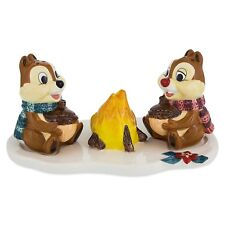 Disney Parks Chip & Dale Holiday Home Salt & Pepper Shakers Chip n Dale Campfire