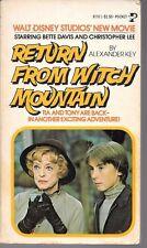 Return from Witch Mountain Movie Jr Novelization Disney Marmorstein 1978 PB