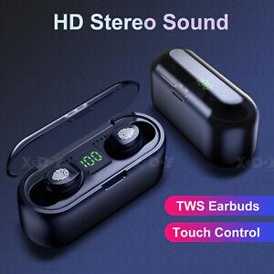 In Ear Bluetooth 5.0 Wireless Super Bass Earbuds Sport Headphone Headset Touch
