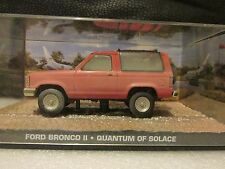 JAMES BOND CARS COLLECTION 103 FORD BRONCO QUANTUM OF SOLACE