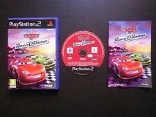 JEU Sony PLAYSTATION 2 PS2 Disney Pixar CARS RACE-O-RAMA (complet, envoi suivi)