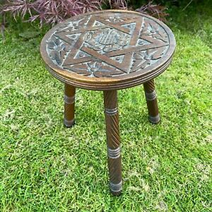 An attractive Antique Carved French Wooden Stool - No.2