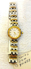 Woman's VTG Sieko Watch Japan Water Resistance 5Bar Stretch Band