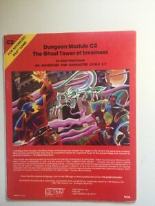 1980 C2 The Ghost Tower of Inverness 9038 TSR D&D Dungeons and Dragons - RARE